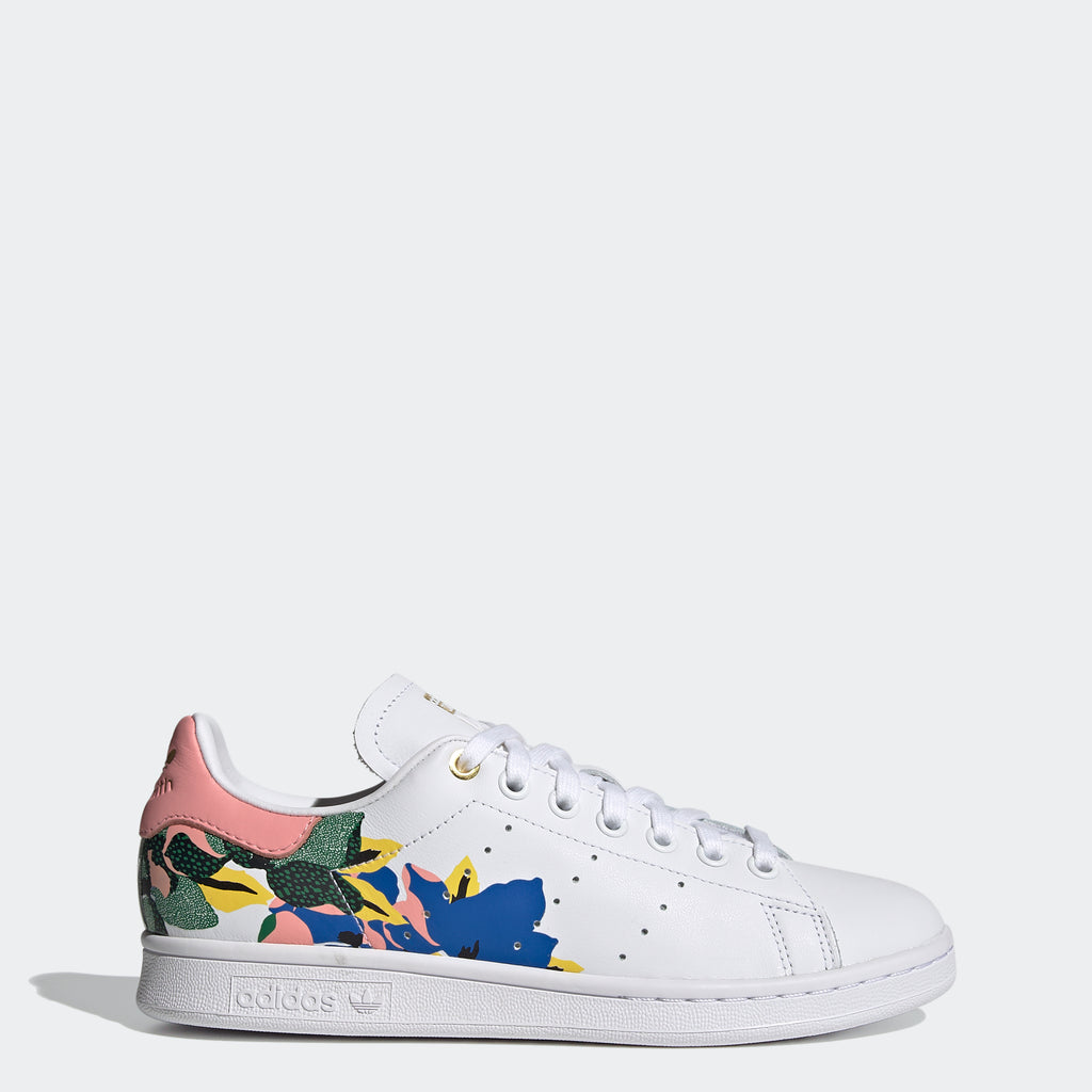 Women's adidas Originals Stan Smith Shoes HER Studio London FW2522 | Chicago City Sports | side view
