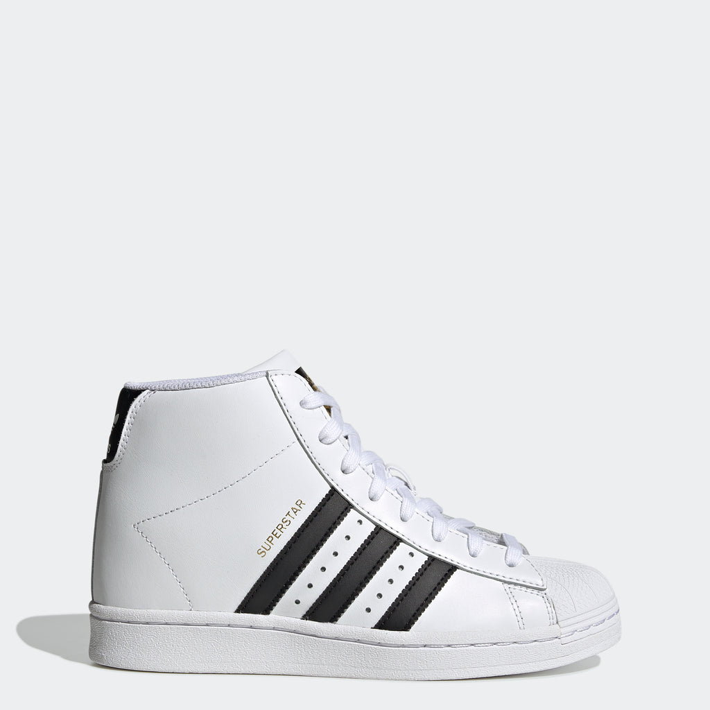 Women's adidas Superstar Up Shoes White FW0118 | Chicago City Sports | side view