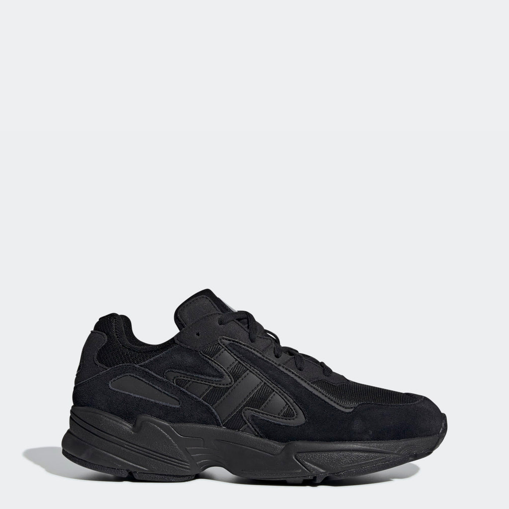 Men's adidas Originals Yung-96 Chasm Shoes Black