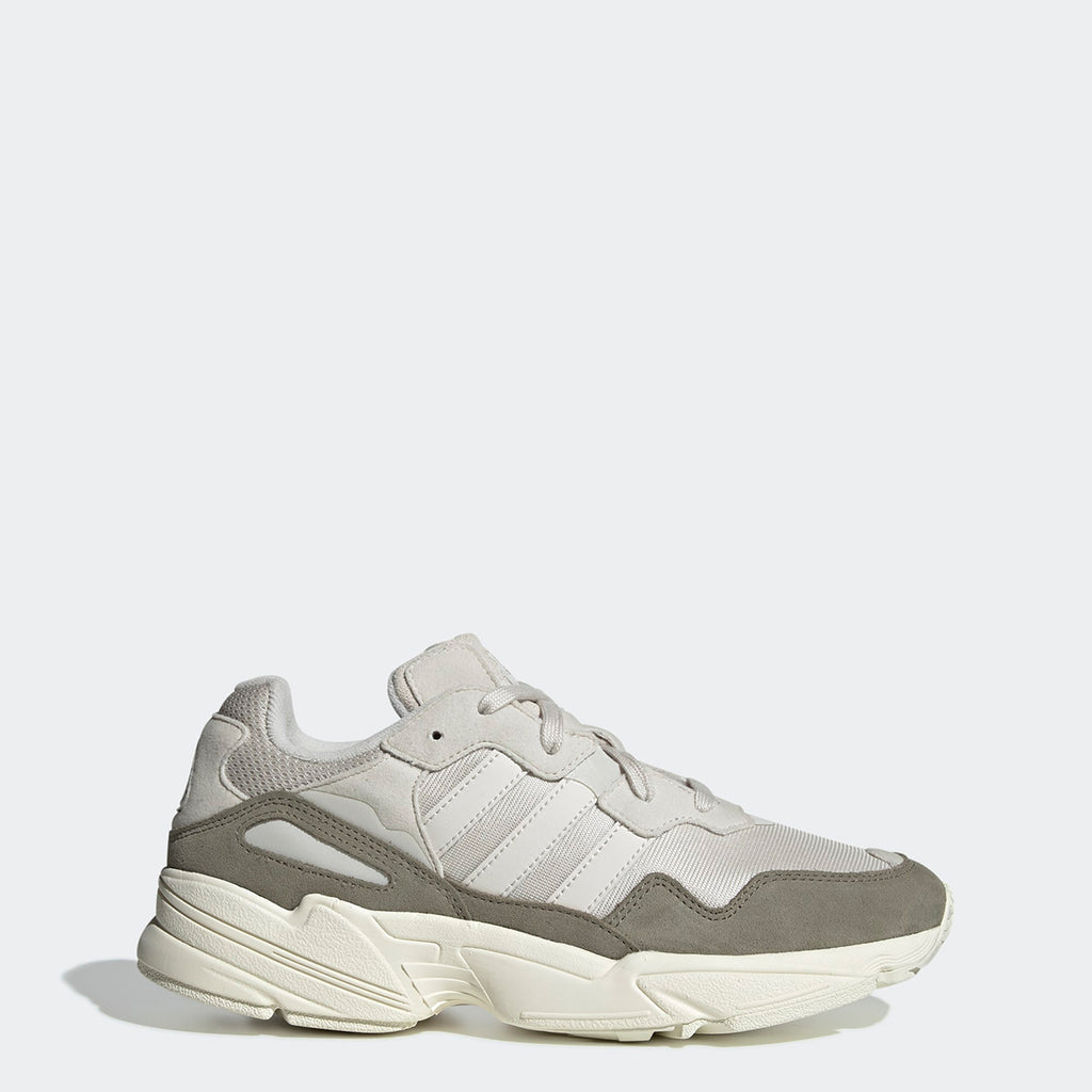 Men's adidas Originals Yung-96 Shoes Raw White