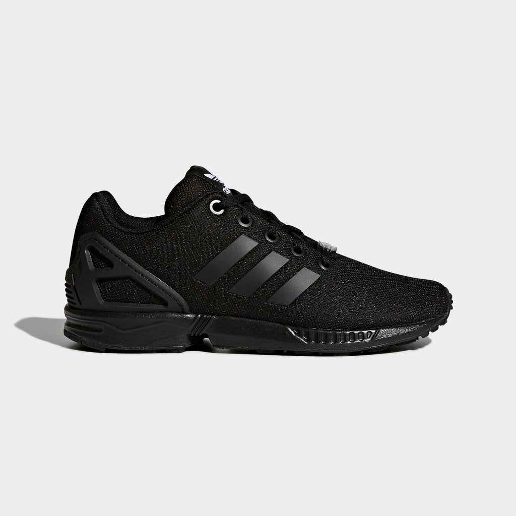 Kid's adidas Originals ZX Flux Shoes Triple Black