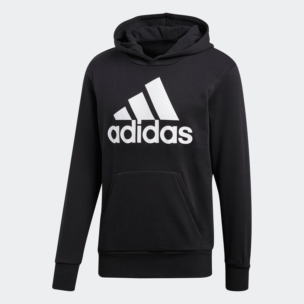 Men's adidas Essentials Badge of Sport Hoodie Black