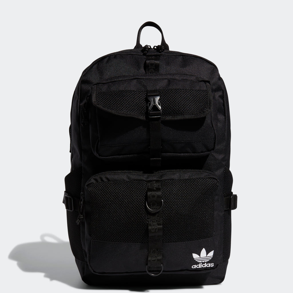 adidas Modular Backpack Black EV7566 | Chicago City Sports | front view