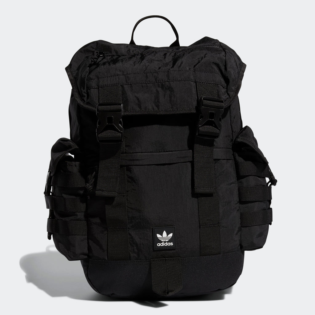 adidas Utility Backpack Black EV7558 | Chicago City Sports | front view