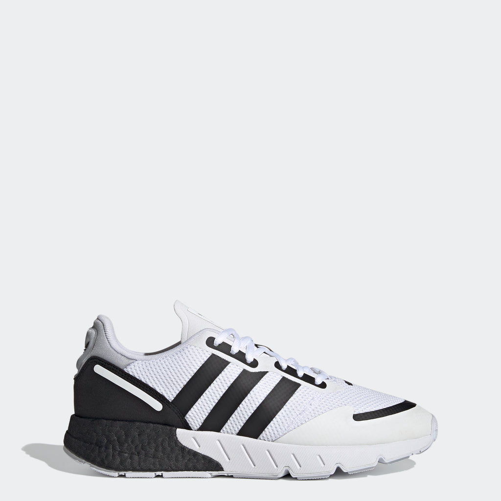Men's adidas Originals ZX 1K Boost Shoes White Black