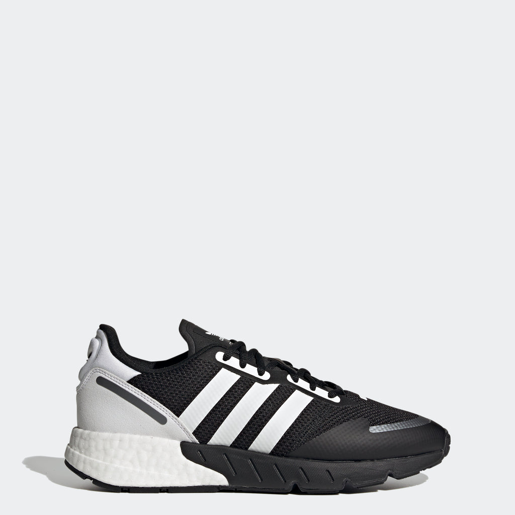 Men's adidas Originals ZX 1K Boost Shoes Black White