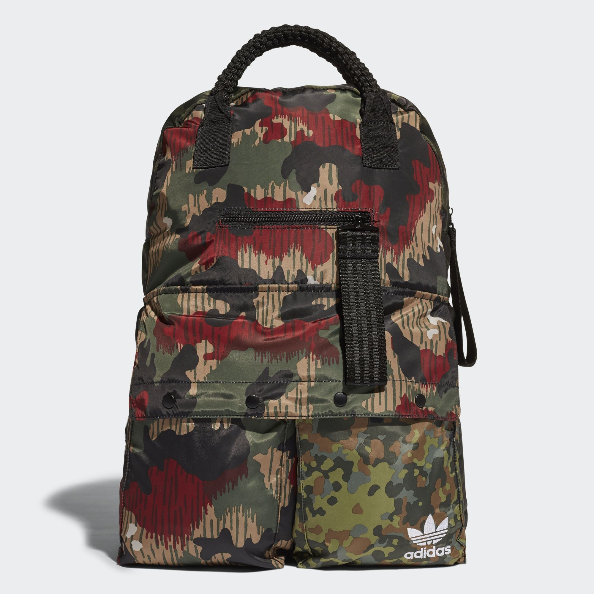 29a990136b36 adidas Originals Pharrell Williams HU Hiking Backpack Camouflage ...