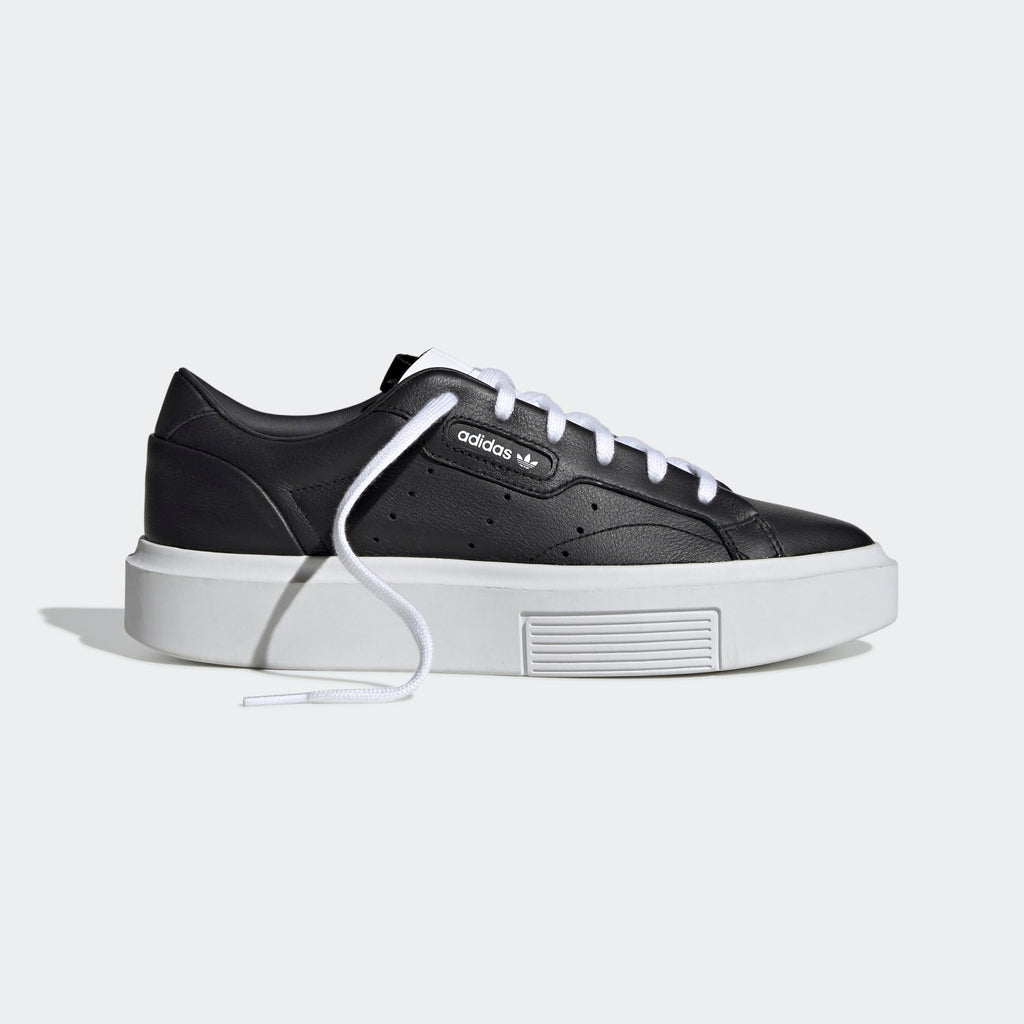 Women's adidas Originals Sleek Super Shoes Black