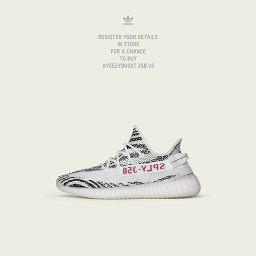 Men's Yeezy Boost 350 V2 Zebra