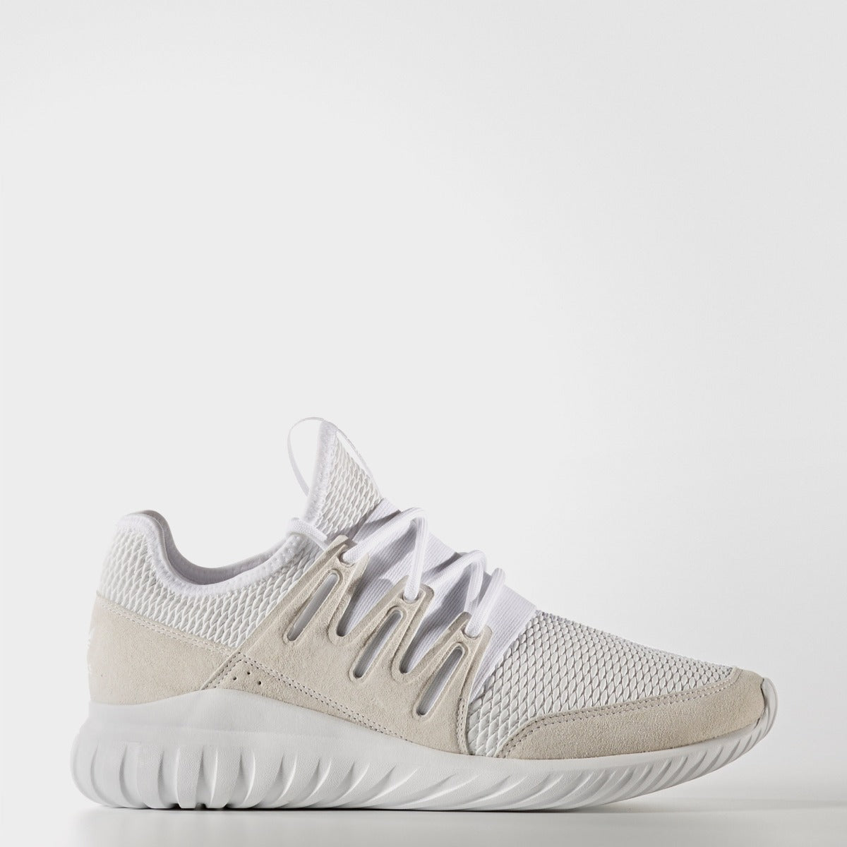 size 40 170dc 69a2f Men s Adidas Originals Tubular Radial Light Gray