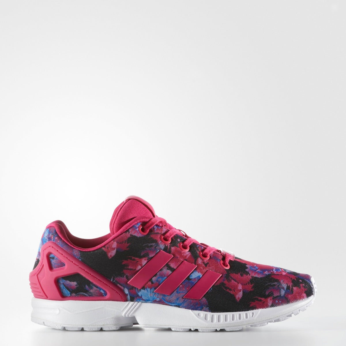 new style cfe7d bbfd1 KID'S ADIDAS ORIGINALS ZX FLUX FLORAL PRINT – Chicago City ...