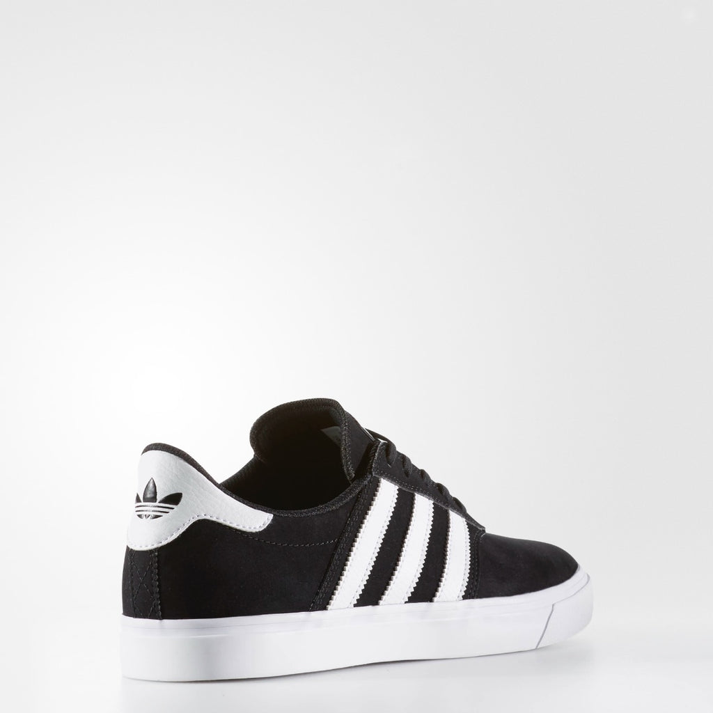 Men's adidas Originals Seeley Premiere Shoes Black and White