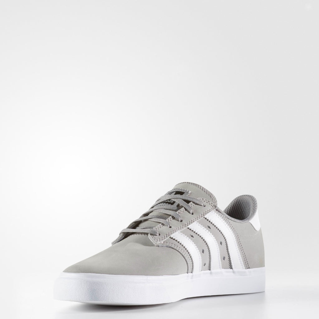 Men's adidas Originals Seeley Premiere Shoes Gray and White