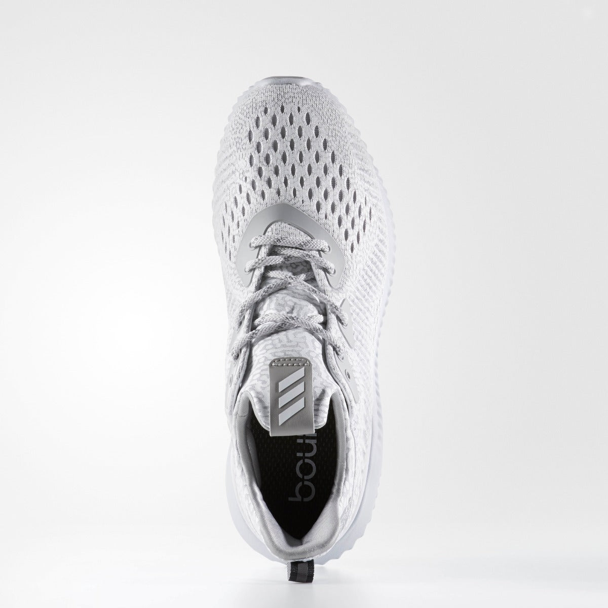 the latest 62719 142b3 WOMENS ADIDAS RUNNING ALPHABOUNCE AMS CLEAR GRAY. 1