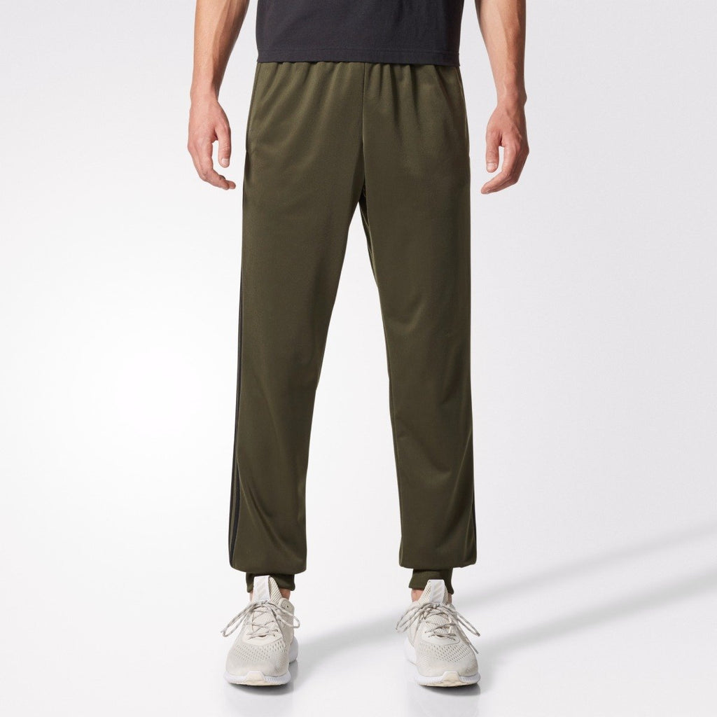 Men's adidas Athletics Essentials 3-Stripes Tricot Jogger Pants Night Cargo