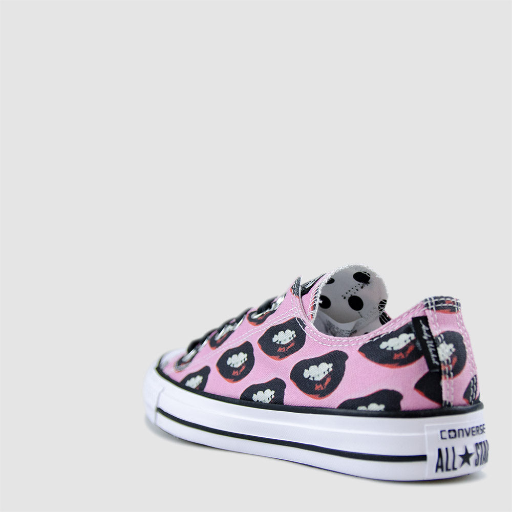 KID'S CONVERSE ALL STAR ANDY WARHOL MARILYN MONROE LOW