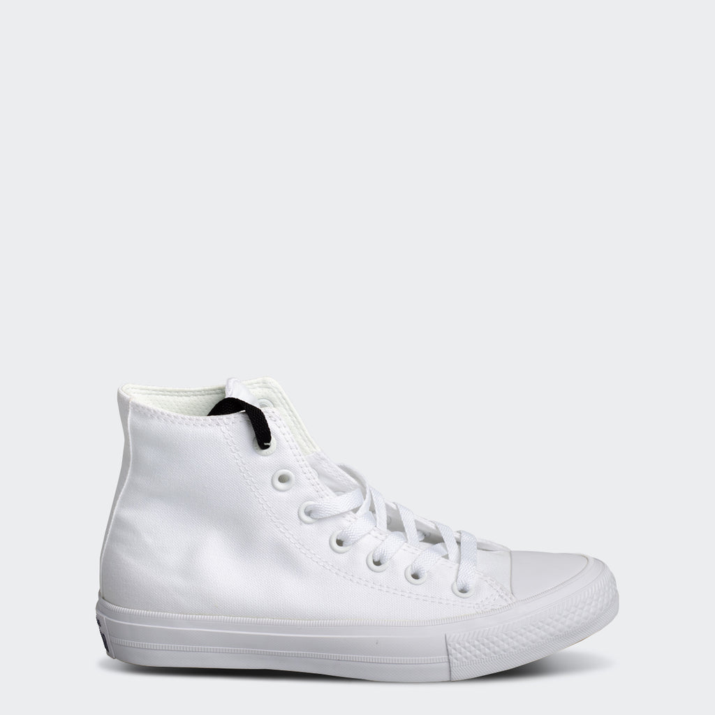 Men's Converse Chuck Taylor All Star 2 High Top Lunarlon White