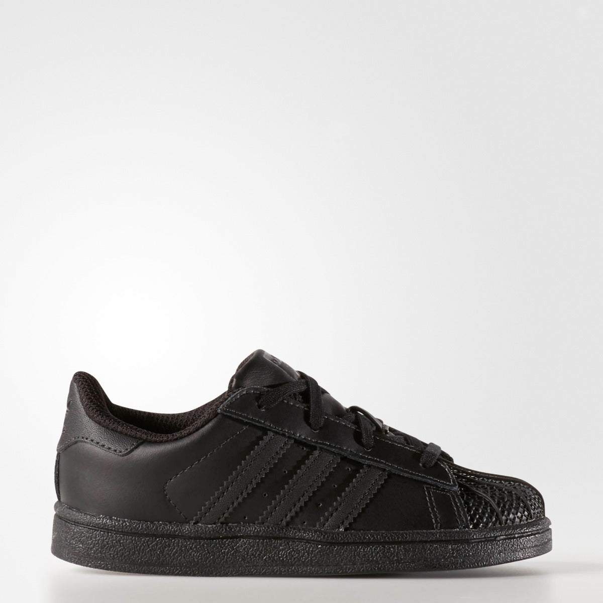 low cost ebe1a 8d7a0 Toddler s Adidas Originals Superstar Foundation I Black