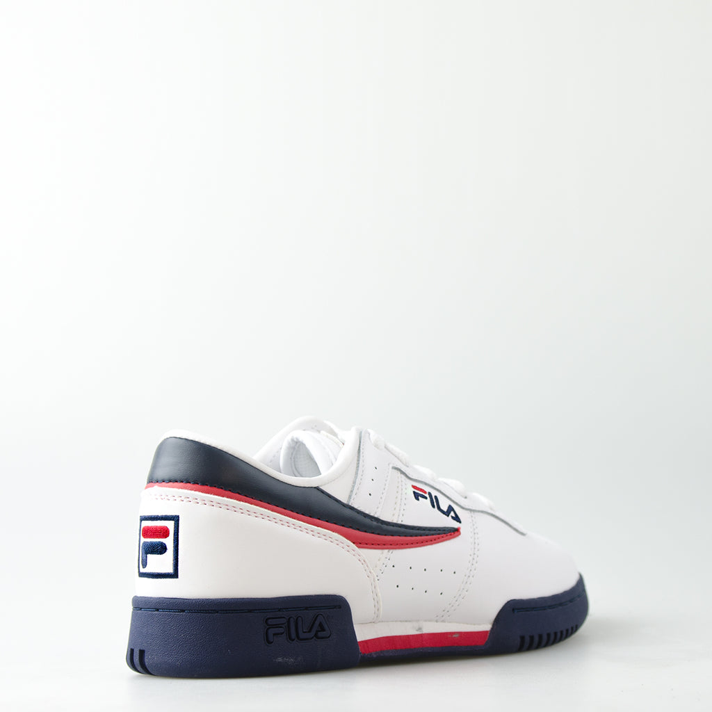 Kid's FILA Original Fitness Shoes White