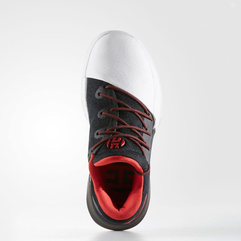 best sneakers 438ac e09d9 Kid s adidas Basketball Harden Vol. 1 Shoes Black with Scarlet Red and White  BW0630   Chicago City Sports