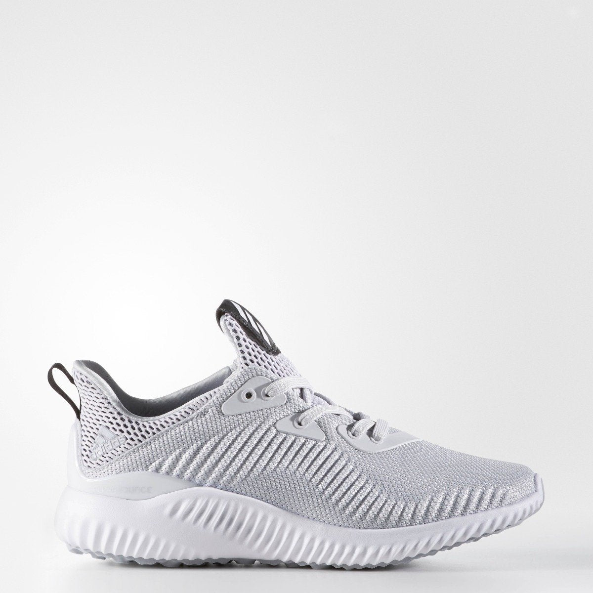 a59f270ea673d Kid s Adidas Originals alphabounce J Clear Grey BB7094
