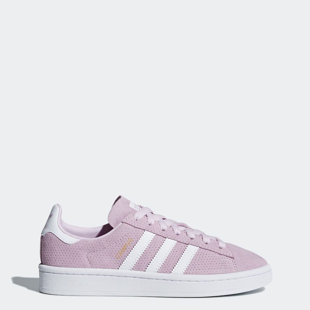 Kid's adidas Originals Campus Shoes Aero Pink CQ2943 | Chicago City Sports | side view