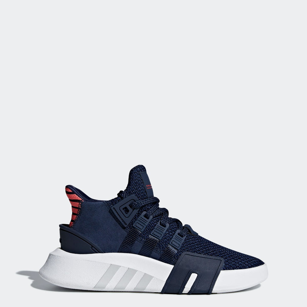 Kid's adidas Originals EQT Bask ADV Shoes Collegiate Navy CQ2361 | Chicago City Sports | side view