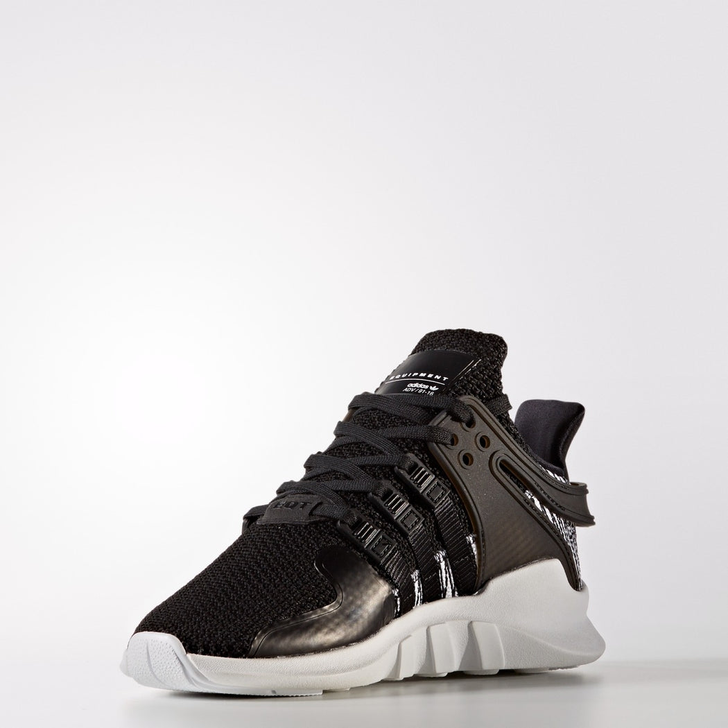 Kid's adidas Originals EQT Support ADV Shoes Black White
