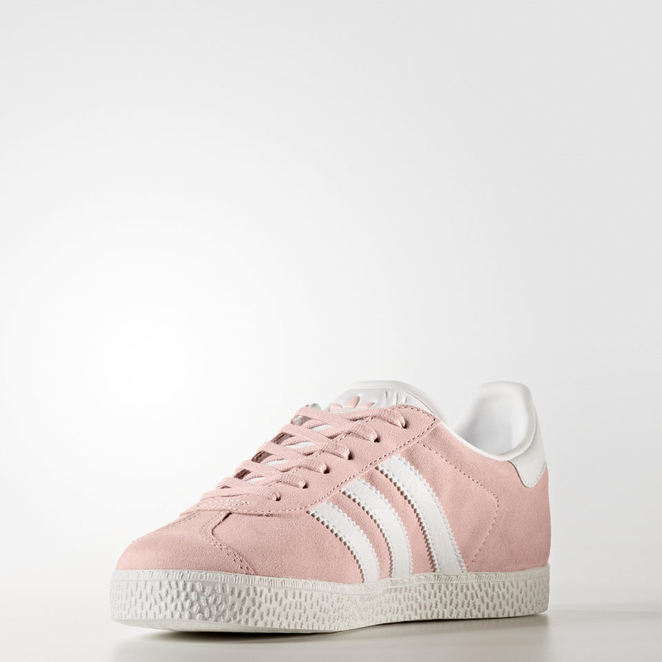 Kid's Adidas Originals Gazelle Shoes Ice Pink