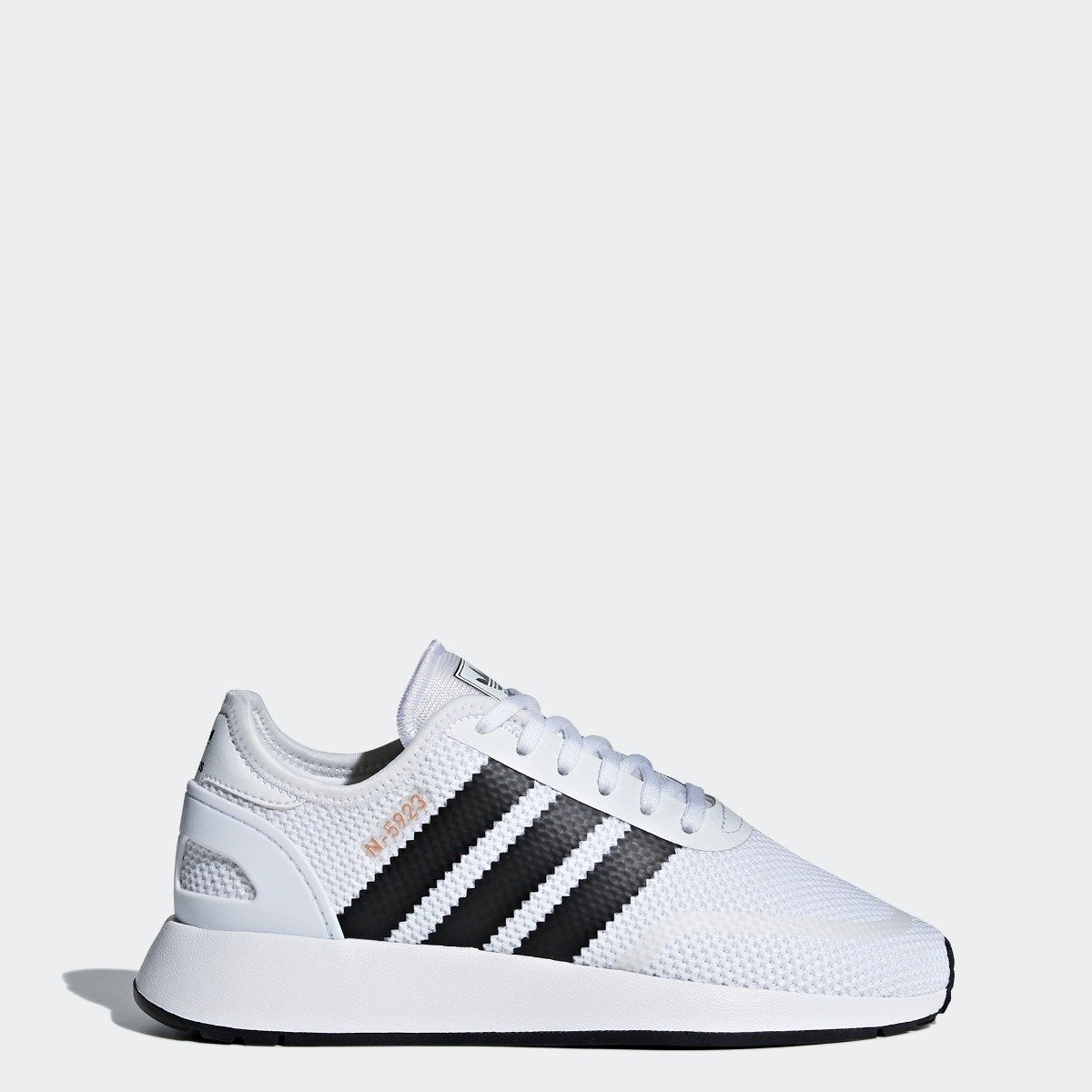 official photos 2a6ca 7db4d Kids adidas Originals N-5923 Shoes White with Black
