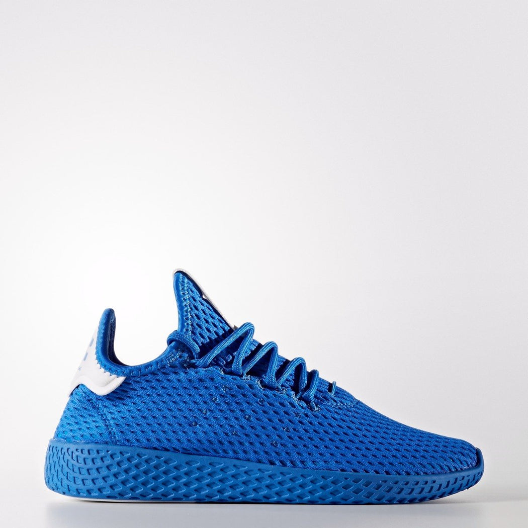 Kid's adidas Originals Pharrell Williams Tennis Hu Shoes Blue