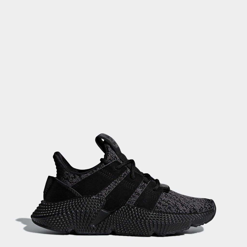 Kid's adidas Originals Prophere Shoes Core Black AQ0510 | Chicago City Sports | side view