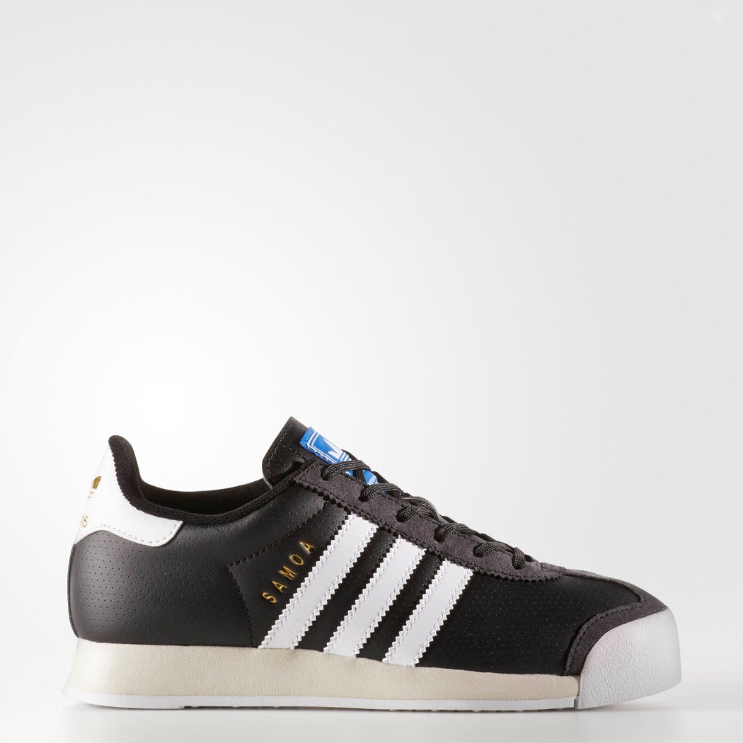 Kid's Adidas Originals Samoa J Black/ White