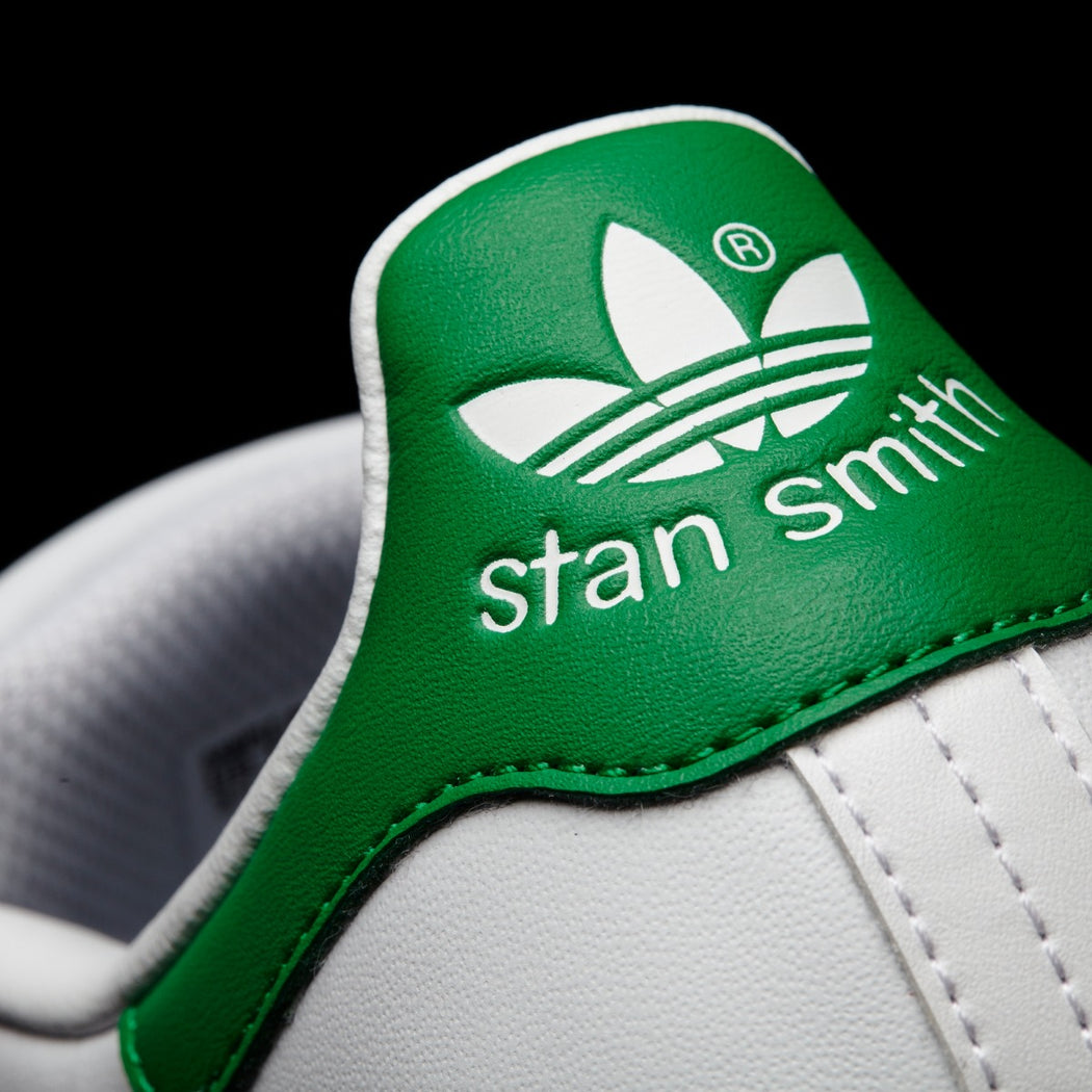 Kid's adidas Originals Stan Smith Shoes White with Green