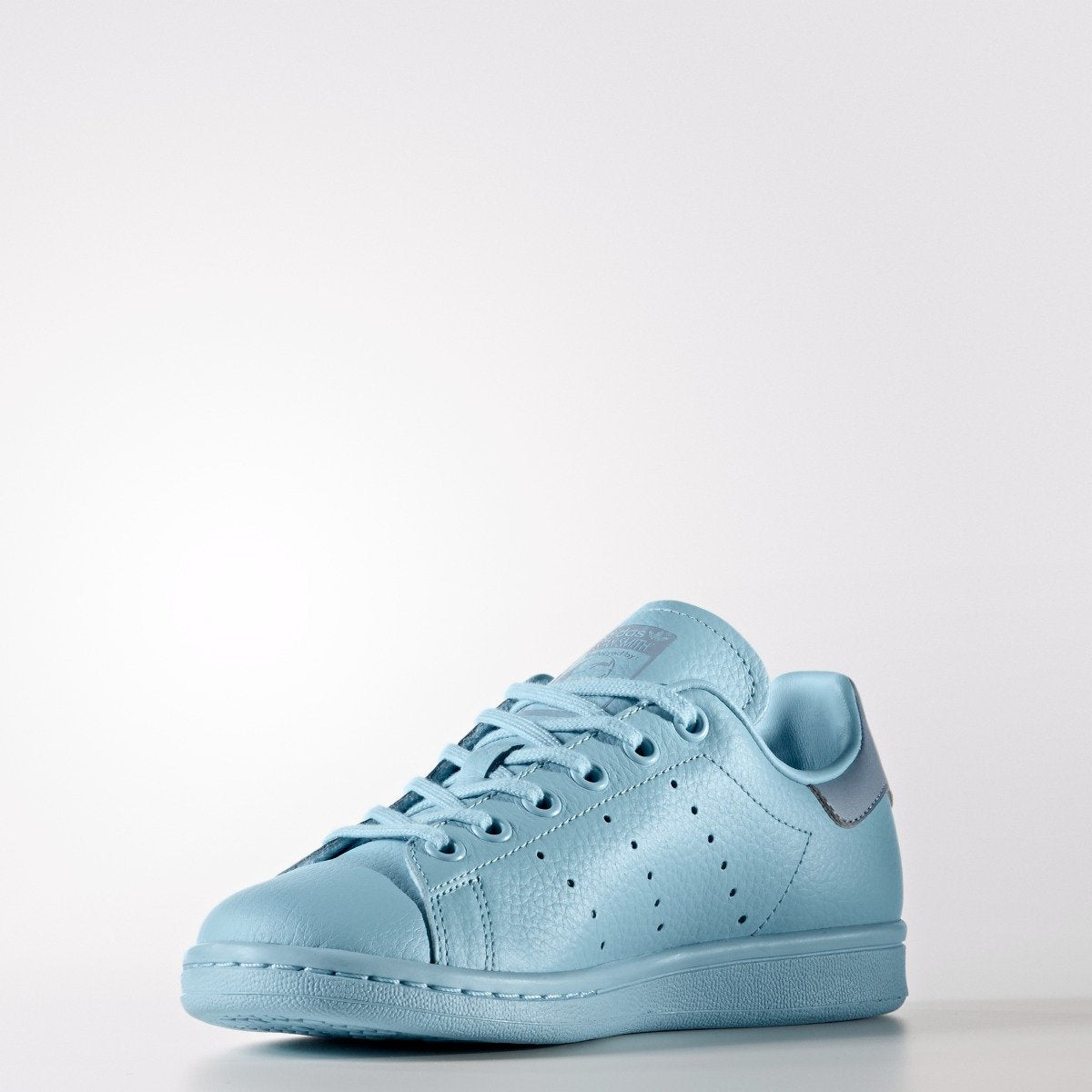 brand new a1071 7760b Kid's adidas Originals Stan Smith Shoes Ice Blue BY9983 ...