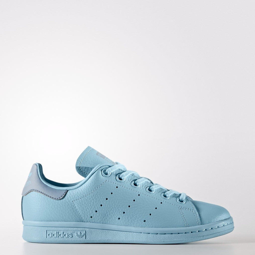 release date: 962ae eb394 Kid's adidas Originals Stan Smith Shoes Ice Blue