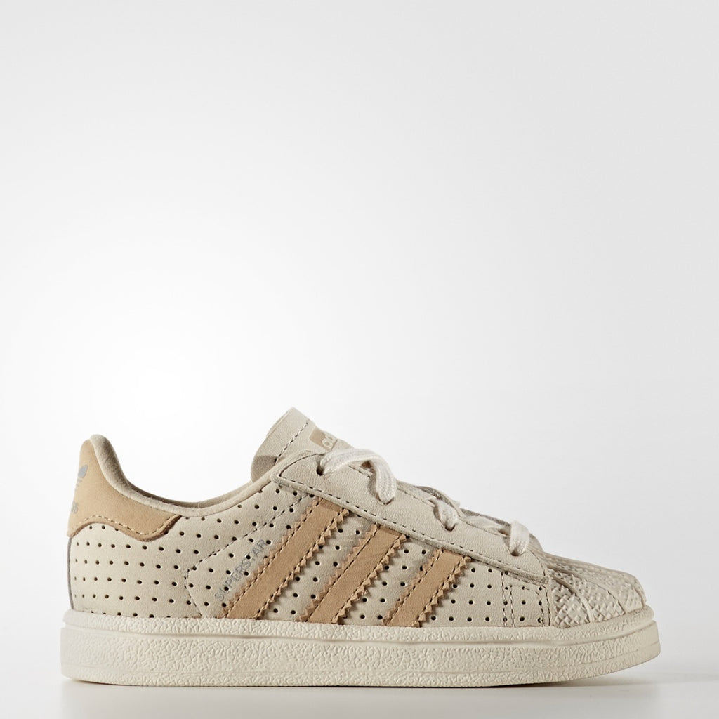 Toddler's Adidas Originals Superstar Fashion Shoes Clear Brown