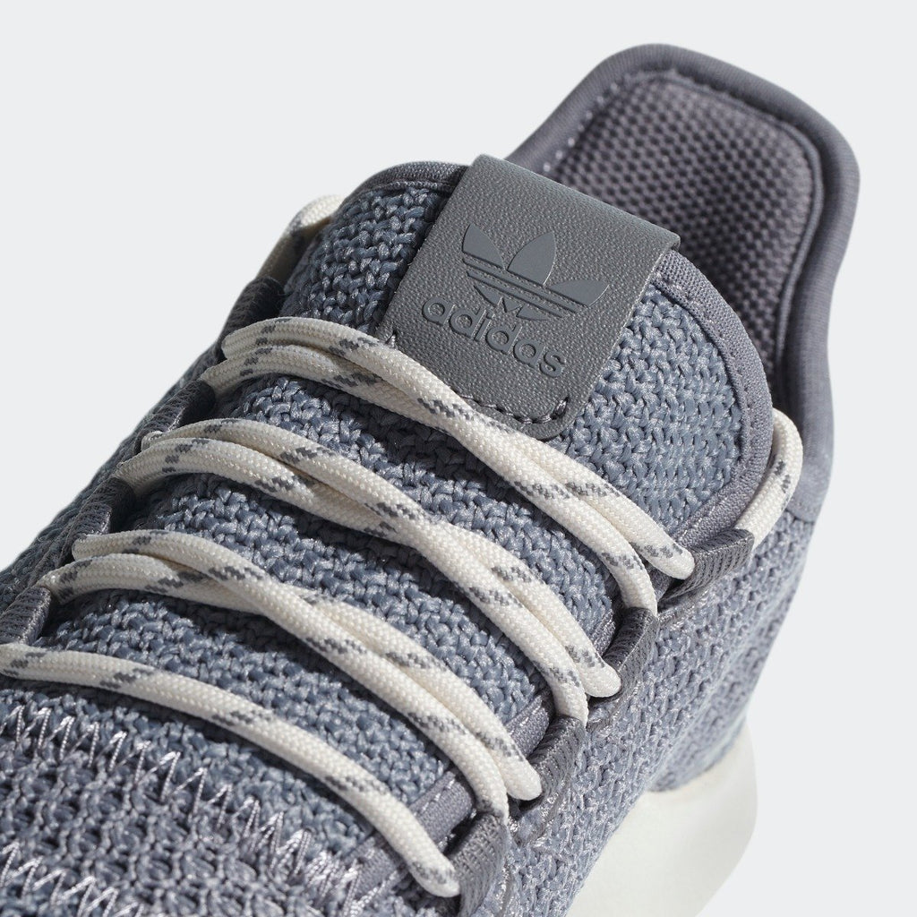 Kid's adidas Originals Tubular Shadow Shoes Gray and Chalk White