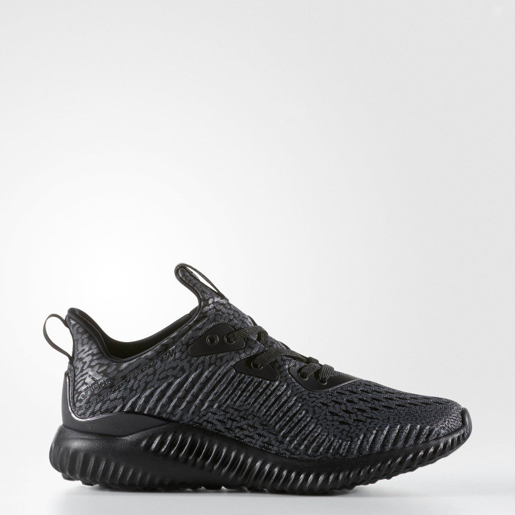 Kid's Adidas Running Alphabounce AMS Black BW0576 | Chicago City Sports | side view