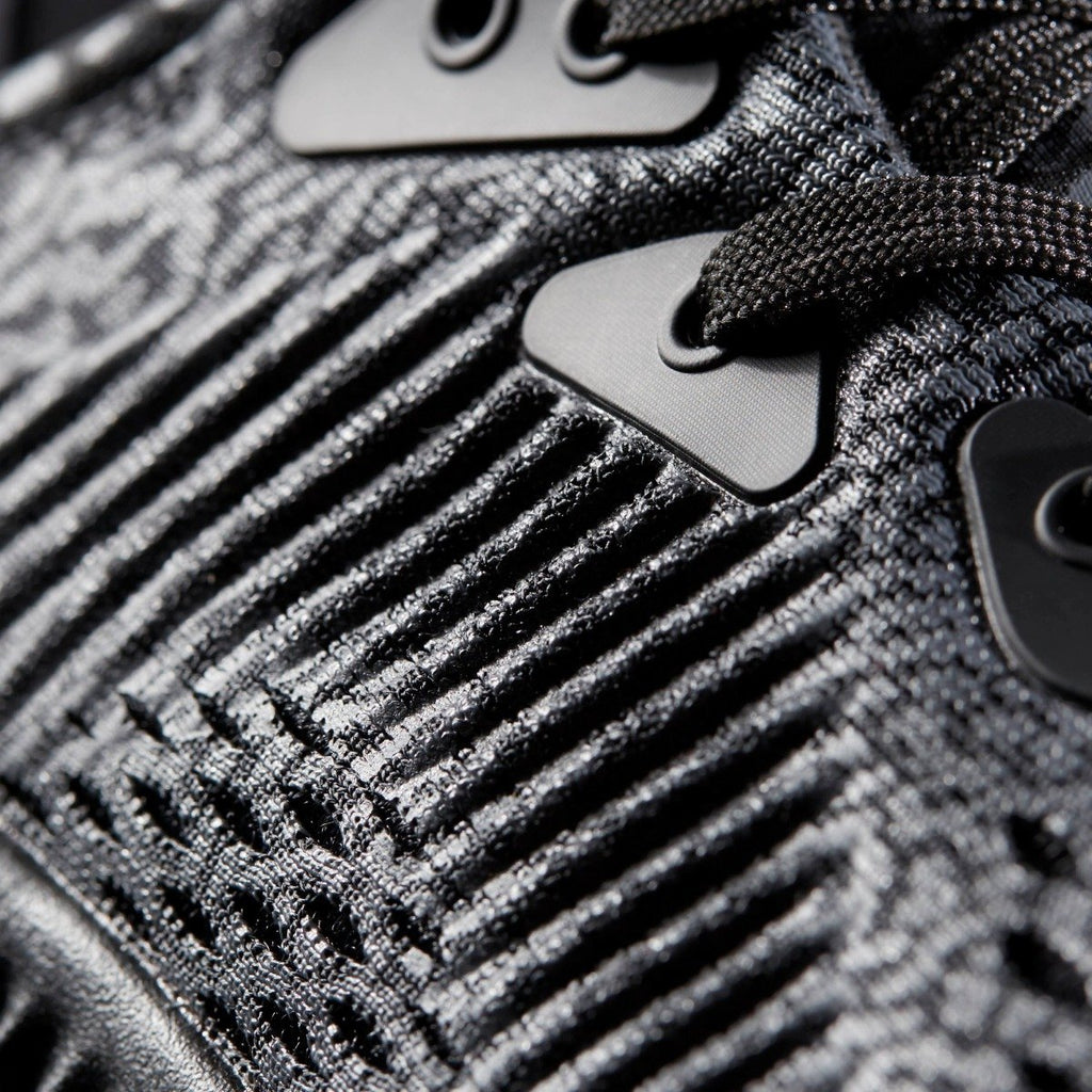 Kid's Adidas Running Alphabounce AMS Black BW0576 | Chicago City Sports | detailed side view