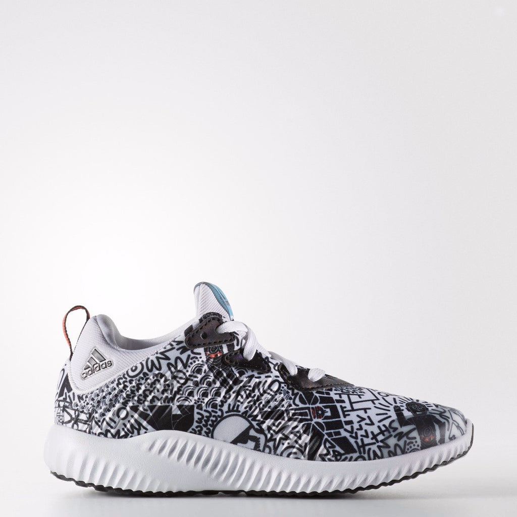 Kid's adidas Running AlphaBounce Star Wars Shoes White BW1121