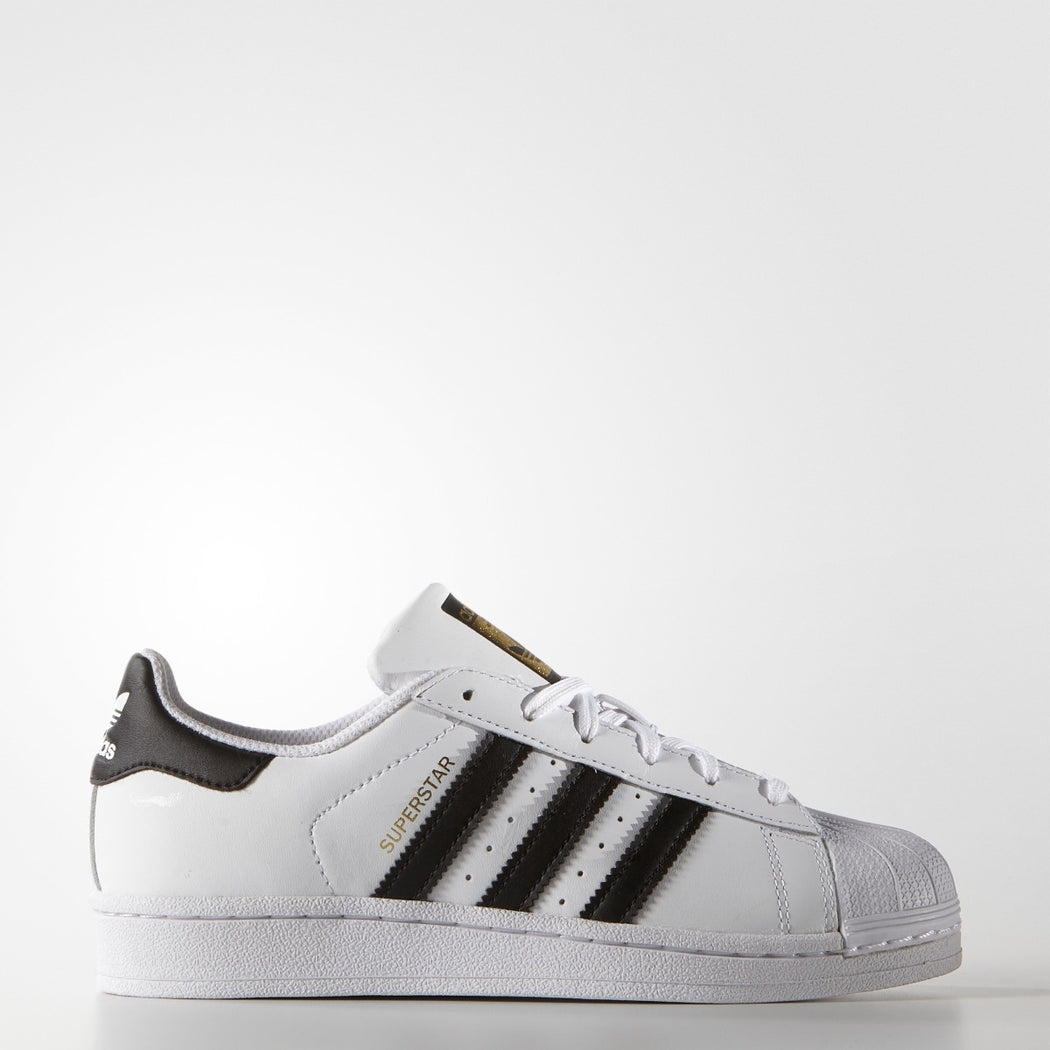Kid's adidas Originals Superstar Shoes White Cloud Black