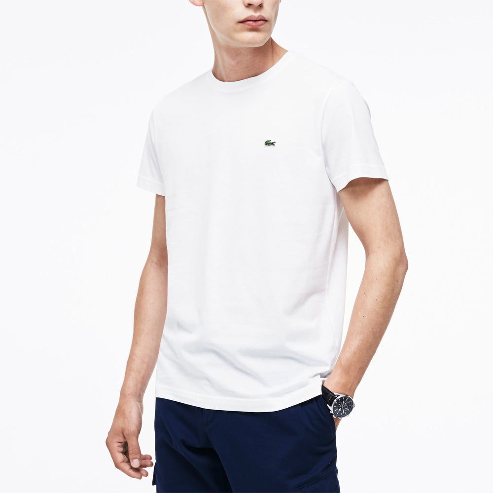 Lacoste White Basic T-Shirt TH5275001