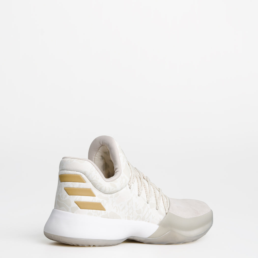5ec06f909165 ... best price mens adidas harden vol 1 basketball shoes clear brown and  off white 9ab1a ffea5