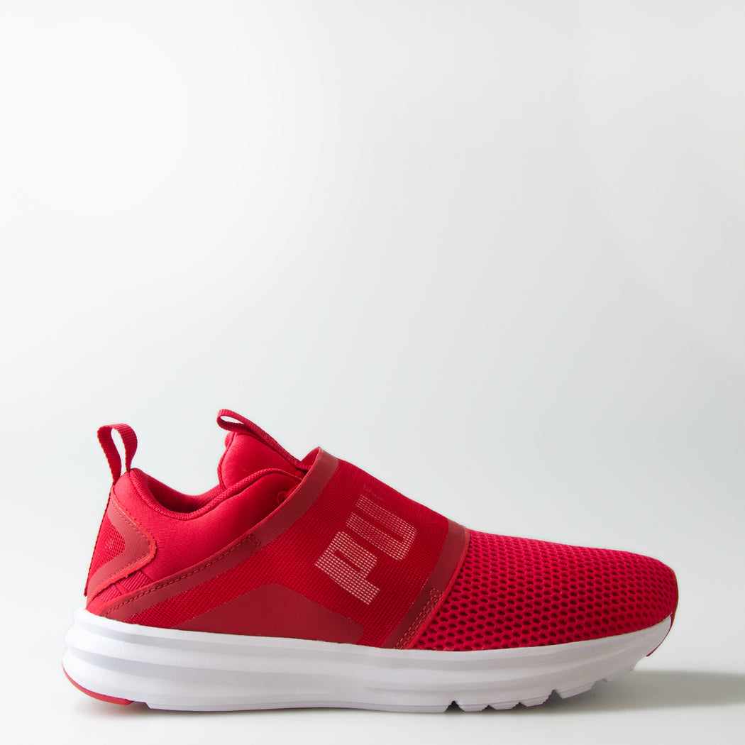 be77114162ffe7 Men s Puma Enzo Strap Knit Shoes Red 19002402