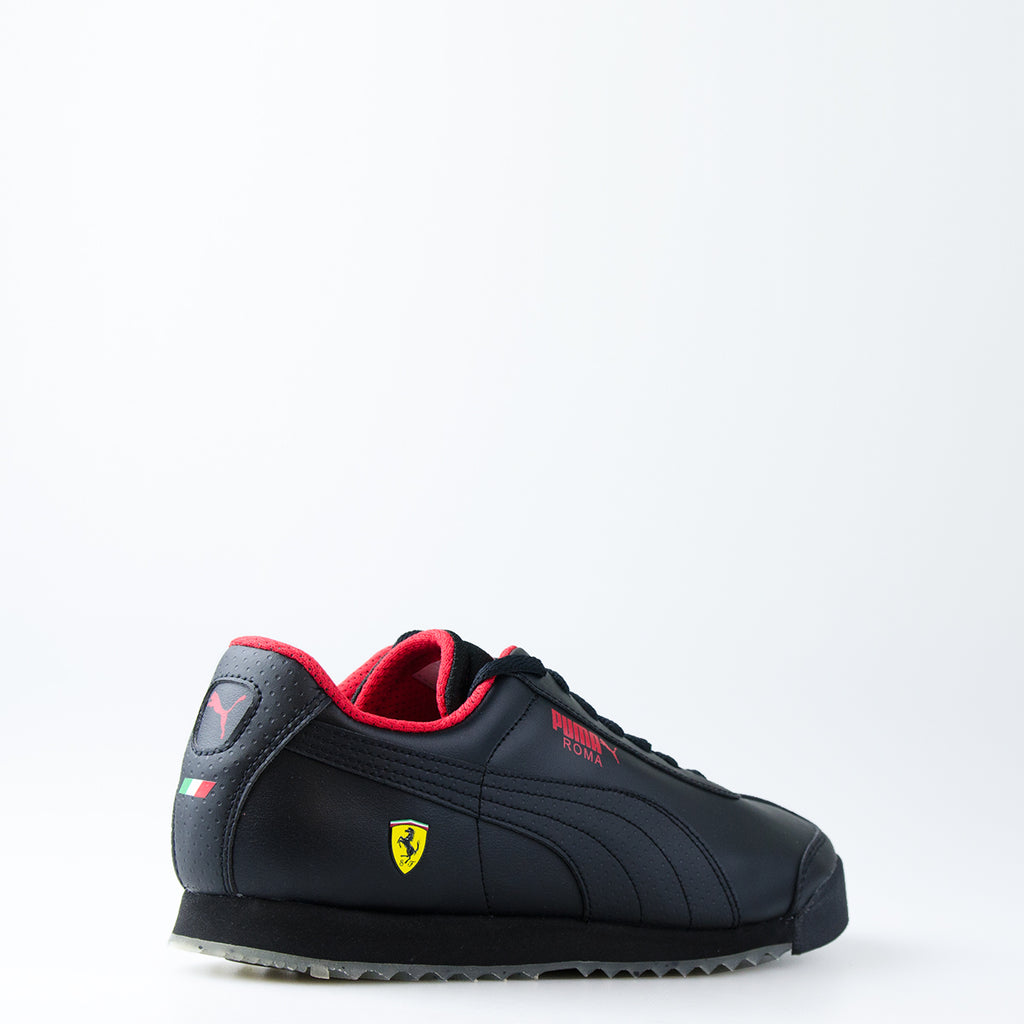 Men's PUMA Ferrari Roma Shoes Black