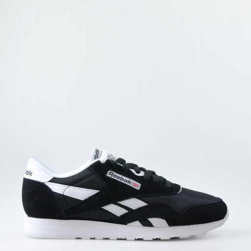 Men's Reebok Classic Nylon Shoes Black