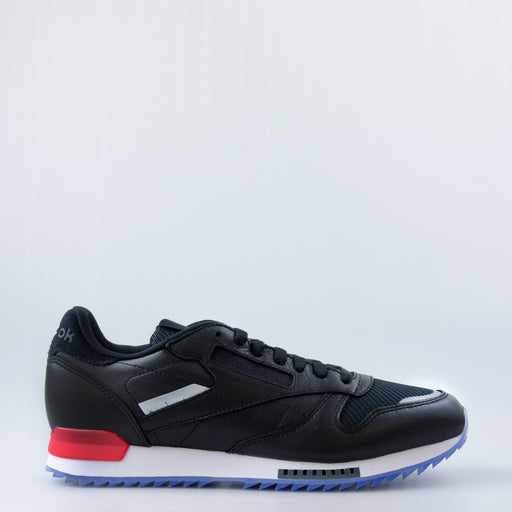 Men's Reebok Classic Leather Ripple Low BP Shoes Black