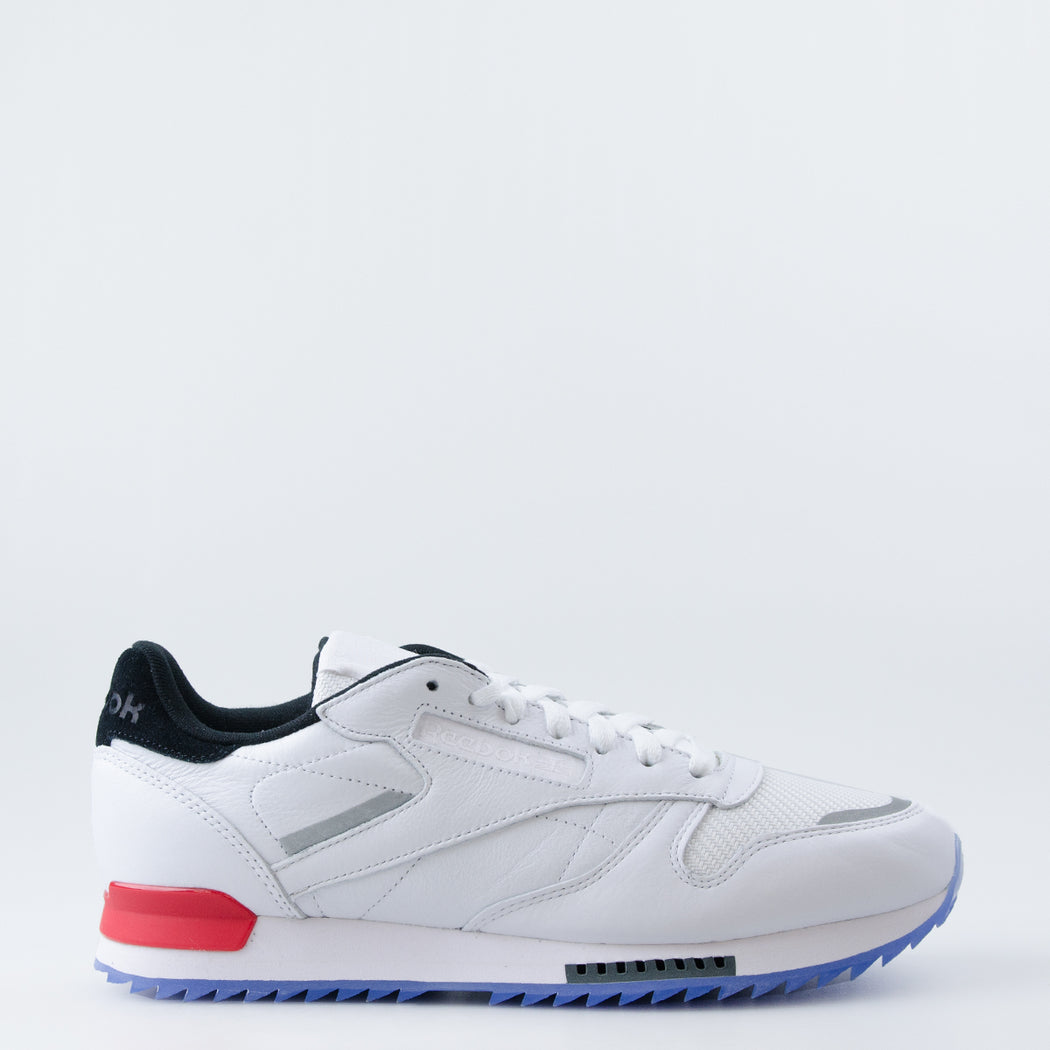 7e74b3cc18a ... authentic mens reebok classic leather ripple low bp shoes white primal  red 4e8ac ee69a