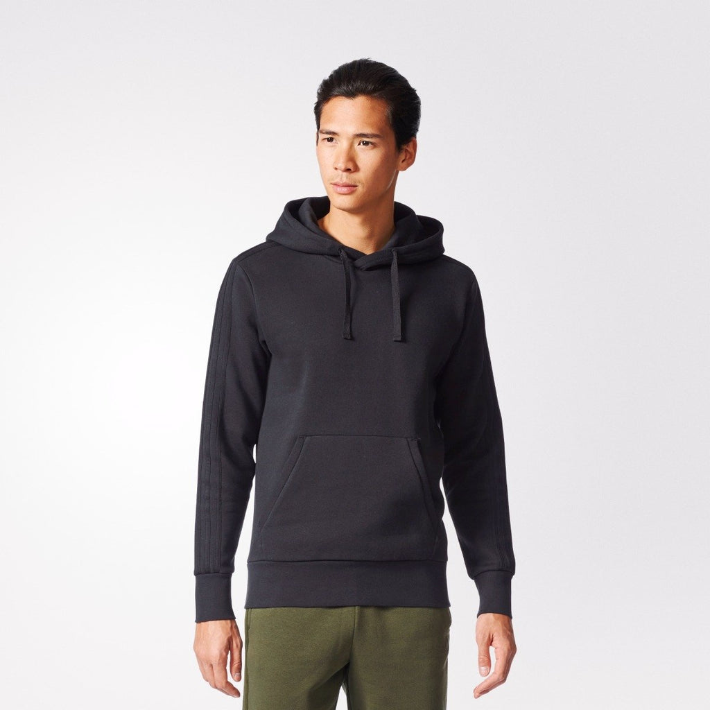 Men's adidas Athletics Essentials Pullover Hoodie Black